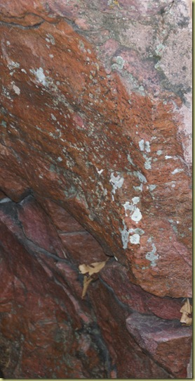 rust rock pipestone