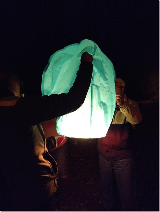 Chines lantern lighting 7.4.18