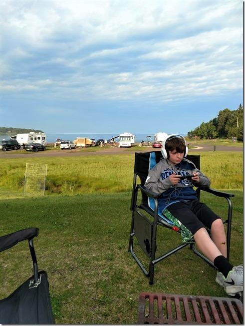 Keegan camping 7.4.2018 trip